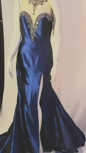 NWT Hand Beaded Gown